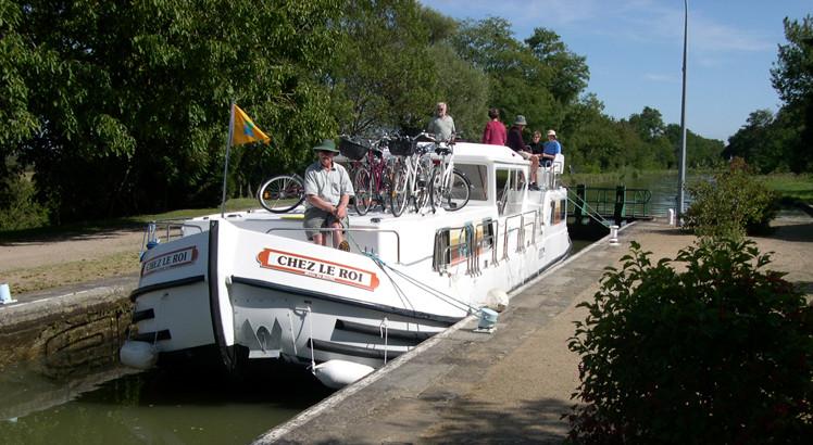 Loire Penichette lock