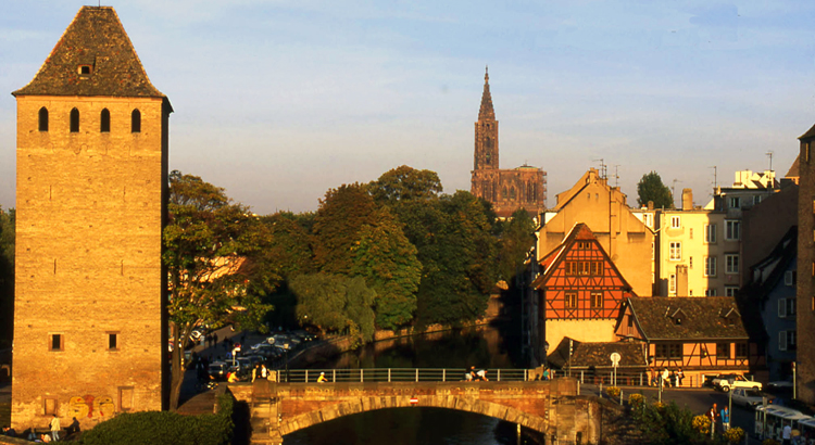 Alsace Bridge Strasbourg