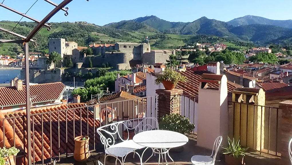 Collioure view from terrace copy