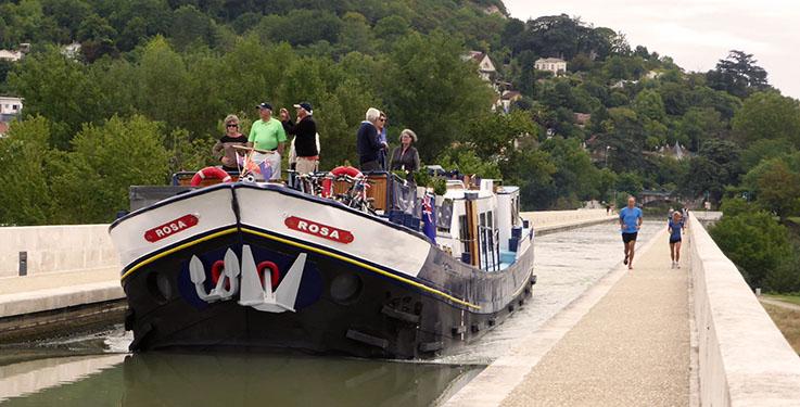 Rosa-Pont canal Agen
